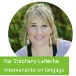 Les mots de nos tout-petits par Stéphany Laflèche